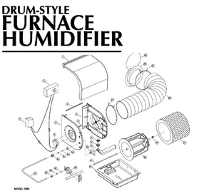 010938000   air king humidifier 6 u0026quot  spring wire clamp