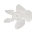 Universal Range Hood Fan Blade, 25° Pitch, Replaces 06118-00